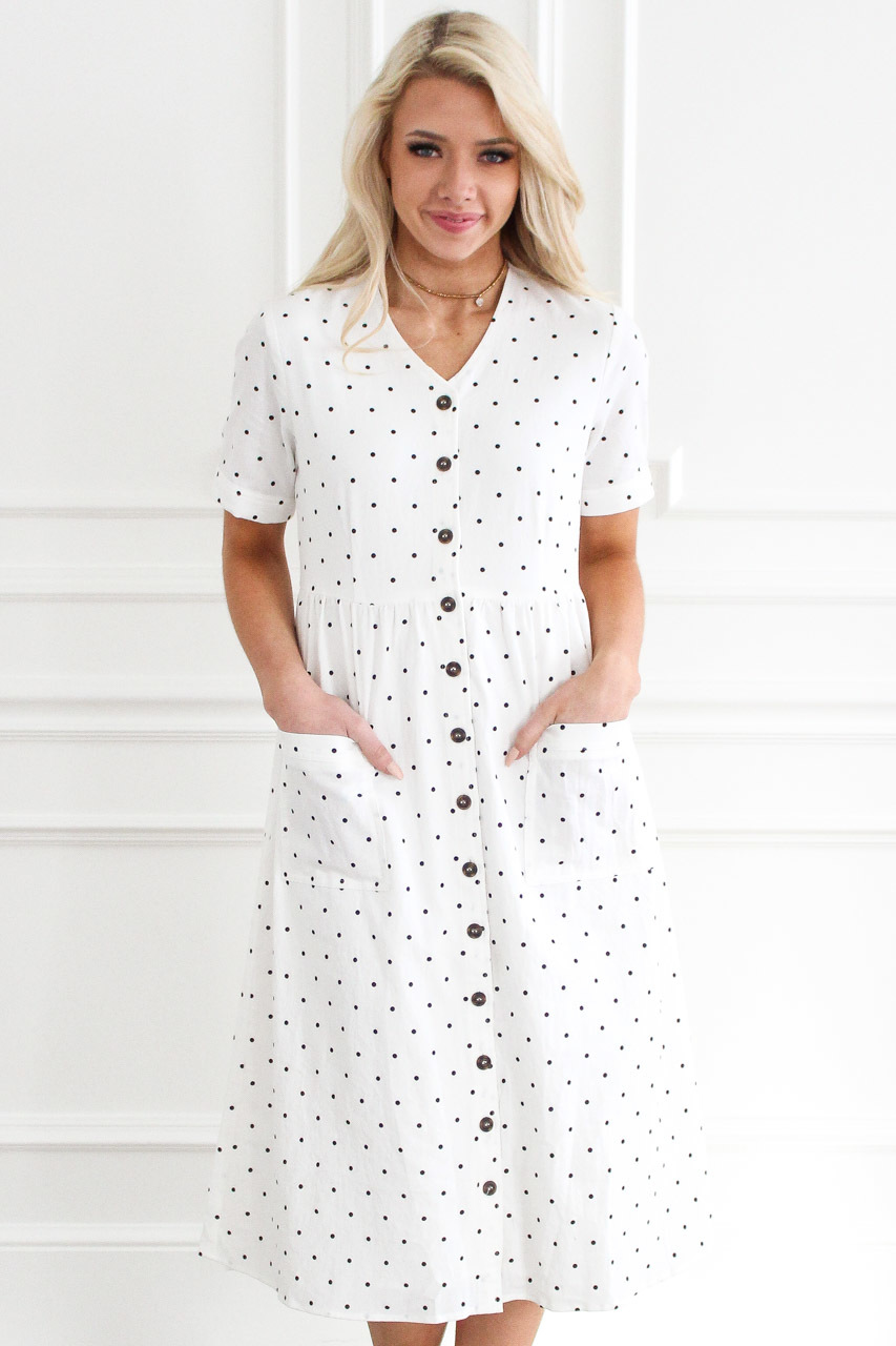d69f968df The Perfect White Dress  Oops a Daisy Midi – THIS BLONDE LIFE
