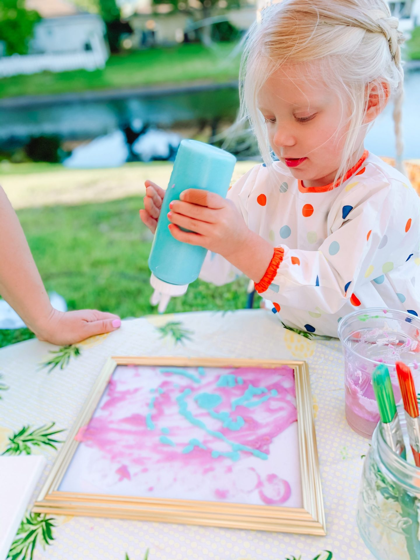 Kids Activity: DIY Puff Paint (Using Items From Your Pantry)