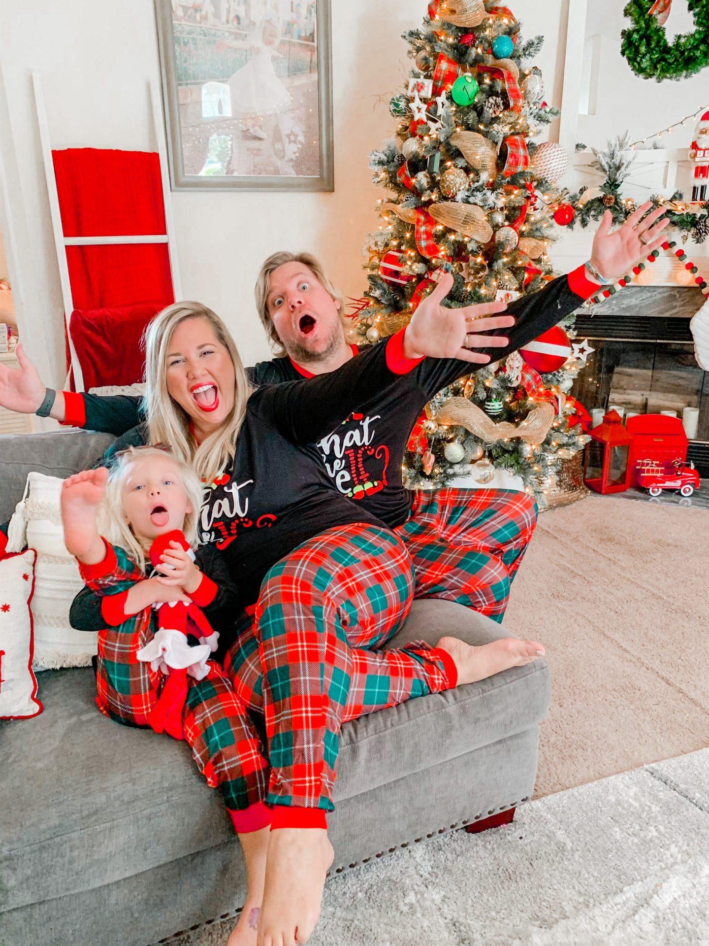 This Year's Matching Family Christmas Pajamas