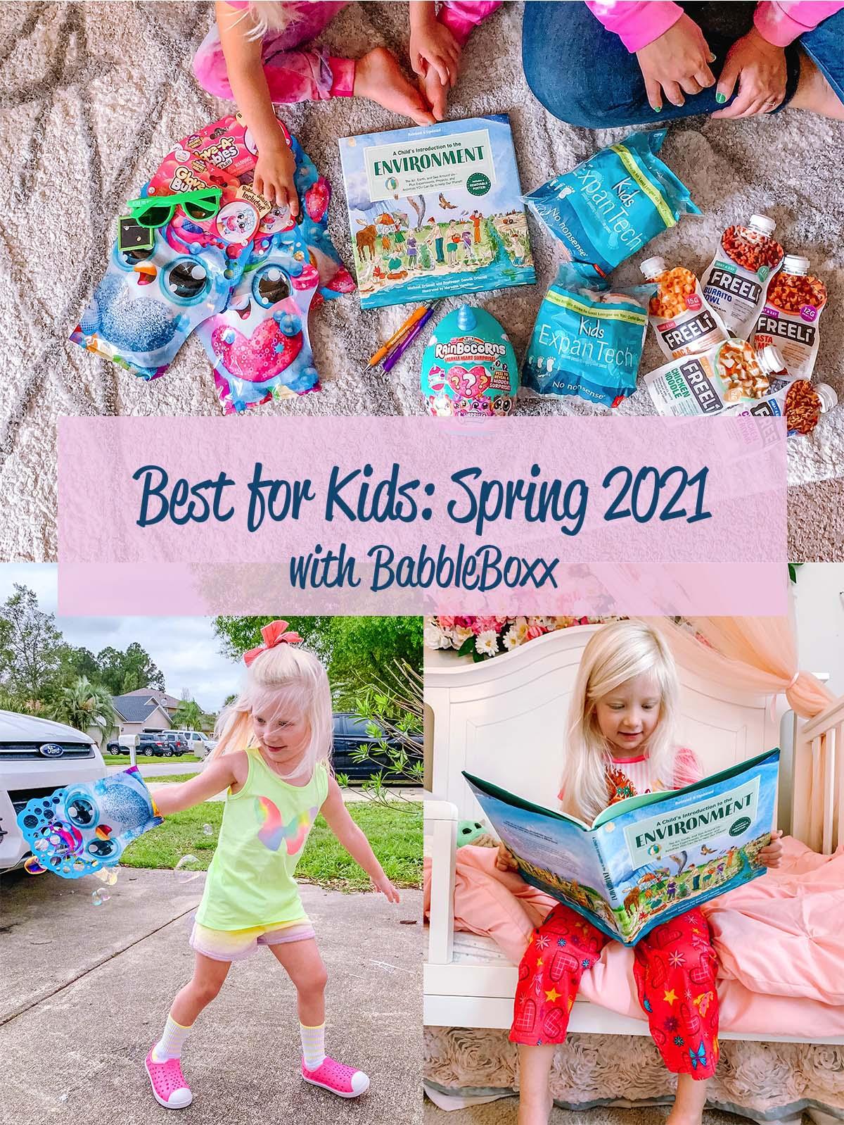 Spring Items for Kids: Inside + Outside Fun