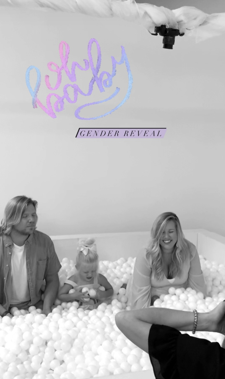 We're Pregnant! Fun Gender Reveal Idea with a Toddler