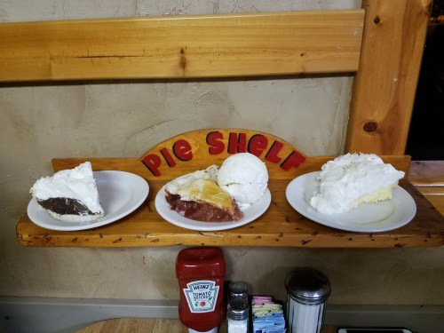 Pie Shelf