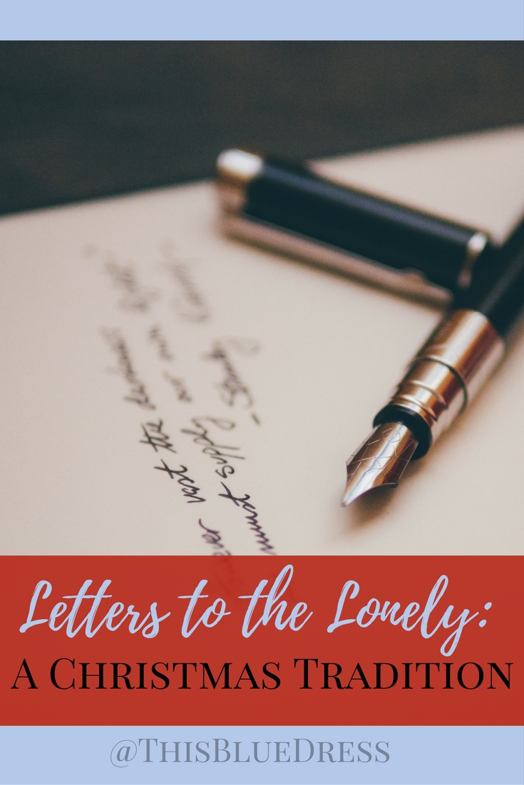 Letters to the Lonely