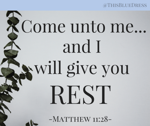 And I Will Give You Rest