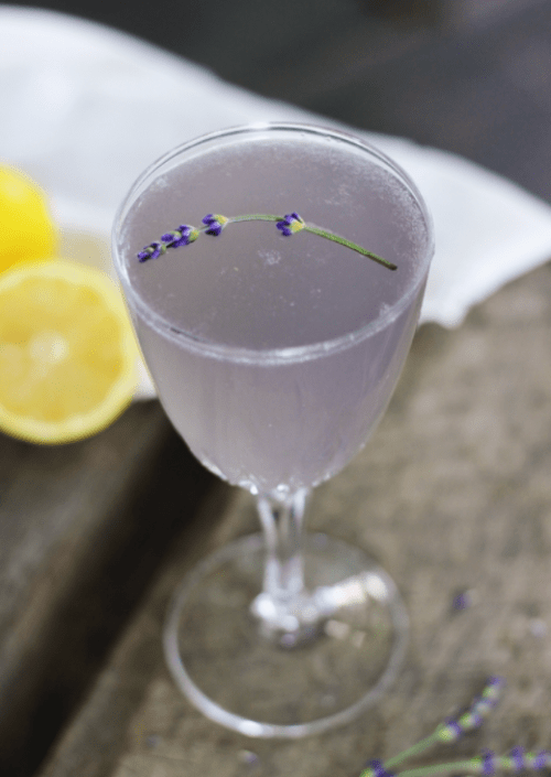 Lemon Lavender Mocktail by The Merry Thought
