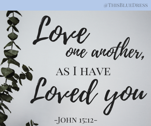 Love one another scripture verse