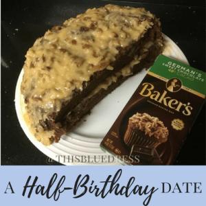 A Half-Birthday Date