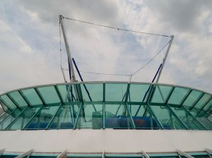 Bungee trampoline on the Enchantment of the Seas
