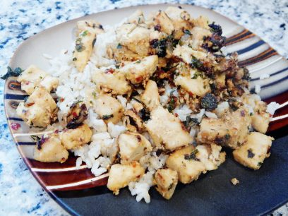 Spicy Basil Thai Chicken