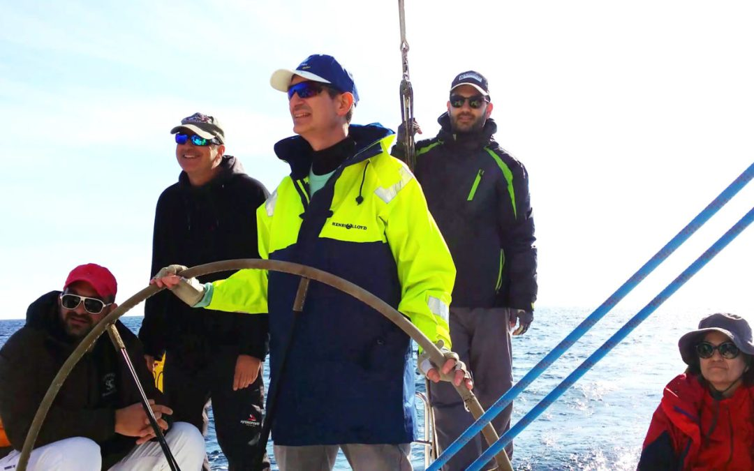 Sailing 101: A sneak peek at our first practical lesson