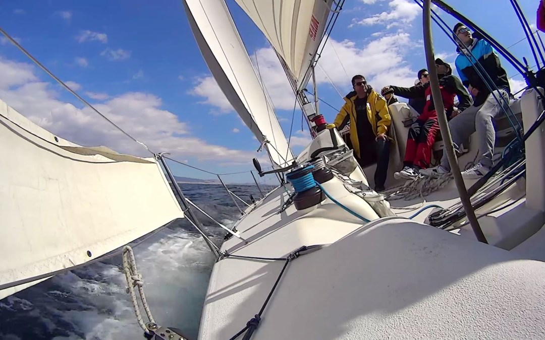 Weekend sailing lesson: From Athens to Aegina island