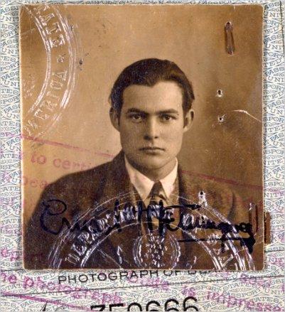 Hemingway's Passport picture