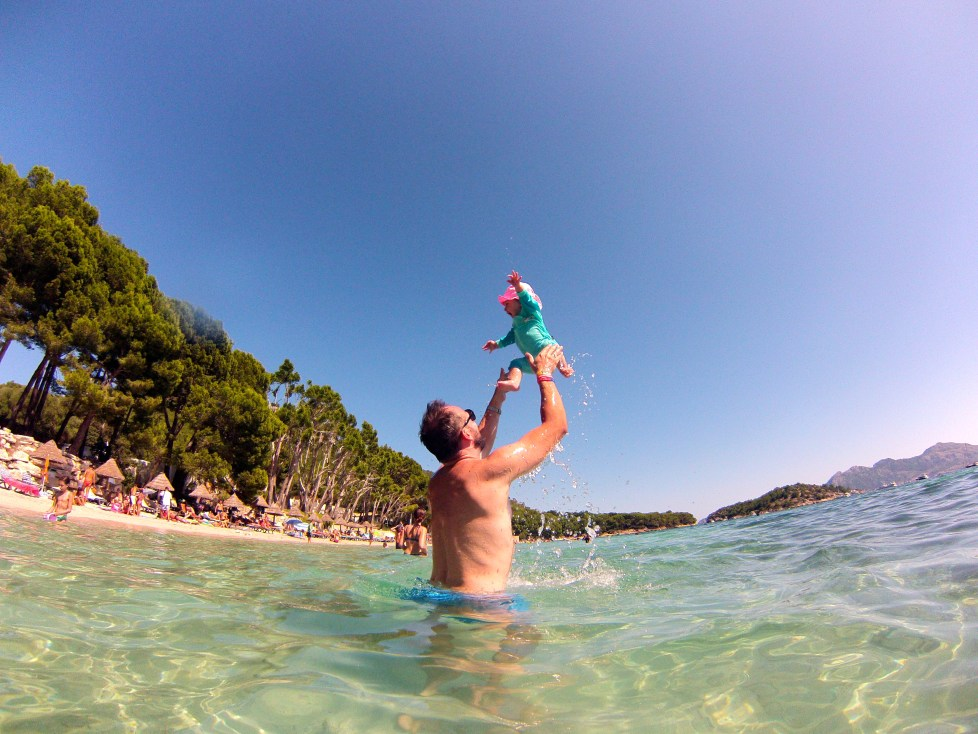 Formentor Beach Holidays in Mallorca with a baby: holiday tips