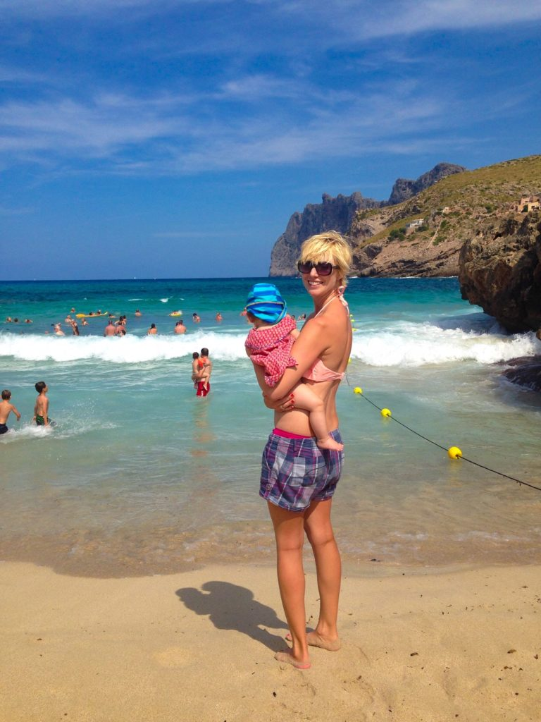 mallorca with a baby