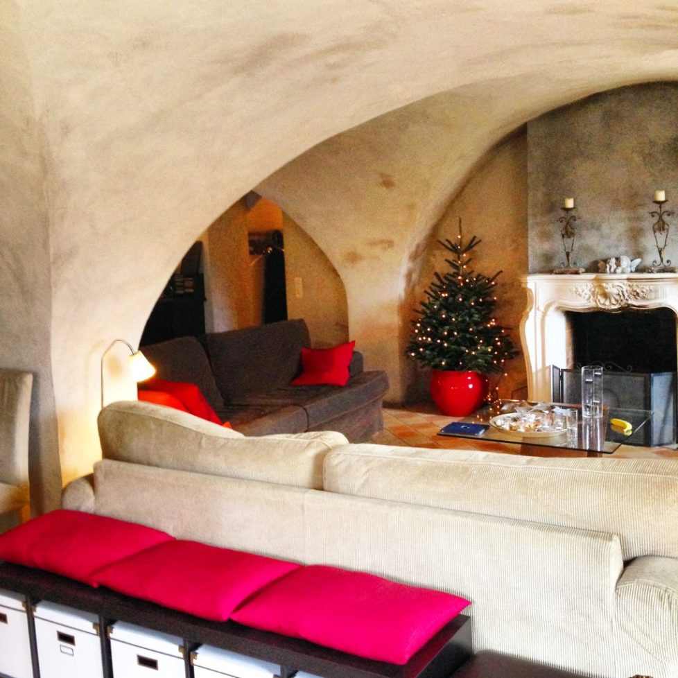 Catered Chalet Vaujany France party decorations