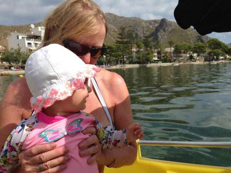 holidays mallorca with a baby