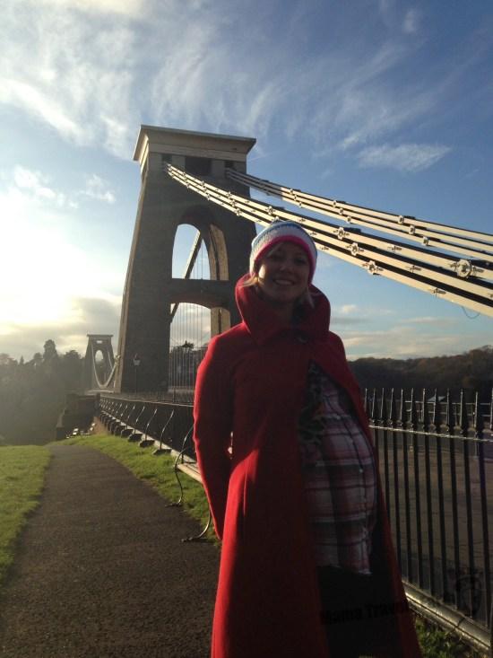 mum to be mini break, Bristol, Clifton Suspension Bridge