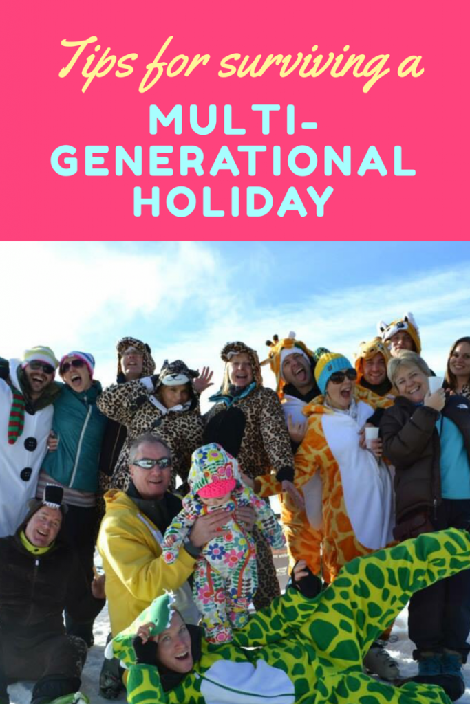 Family holiday with grandparents - how to survive a multi-generational holiday