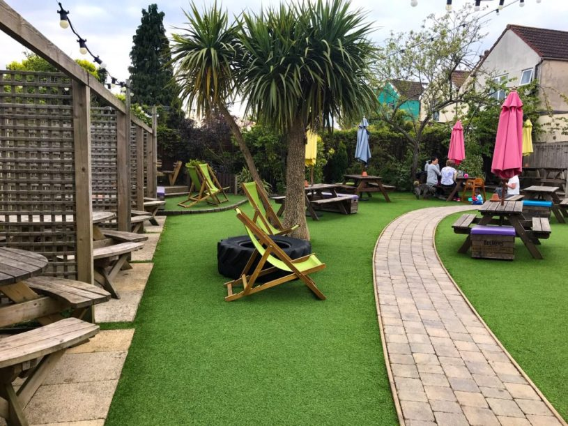 Gloucester Old Spot pubs with outdoor play areas Bristol