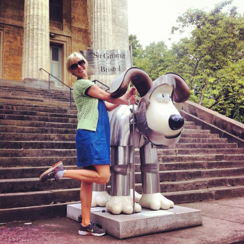 Grand Appeal Aardman Wallace, Gromit unleashed trail: Free activities in Bristol