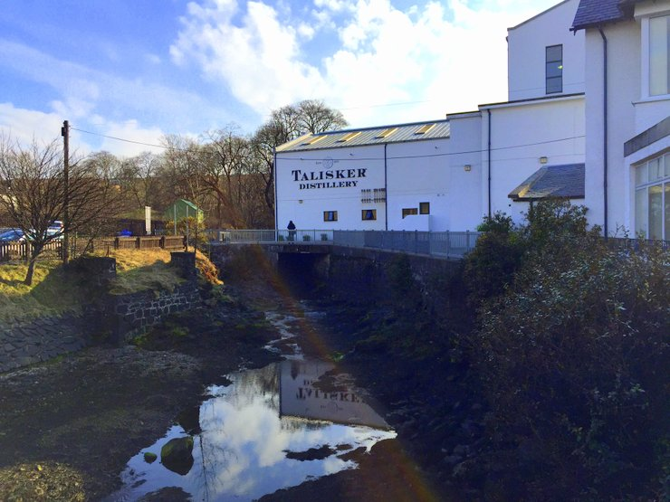 Talisker distillery, Isle of Skye, Scotland
