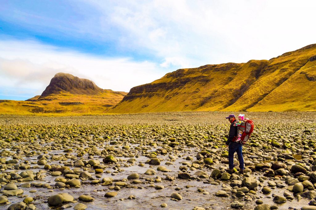 Isle of Skye with a toddler – 7 outdoor activities