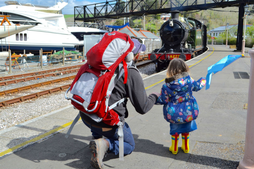 Dartmouth steam railway, Kingswear, Devon, UK Family-friendly things to do near Kingswear