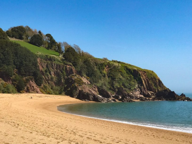 Blackpool sands near Kingswear