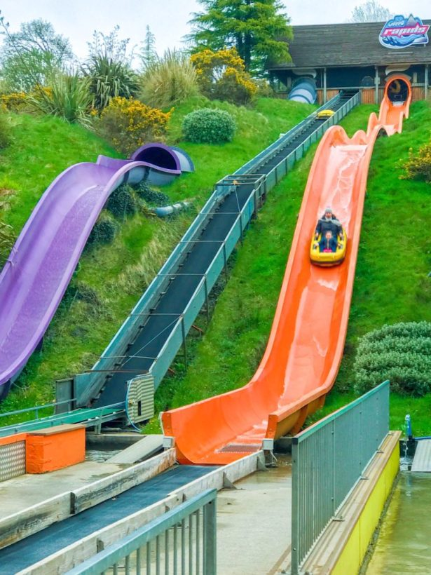 Woodlands family theme park_watercoaster