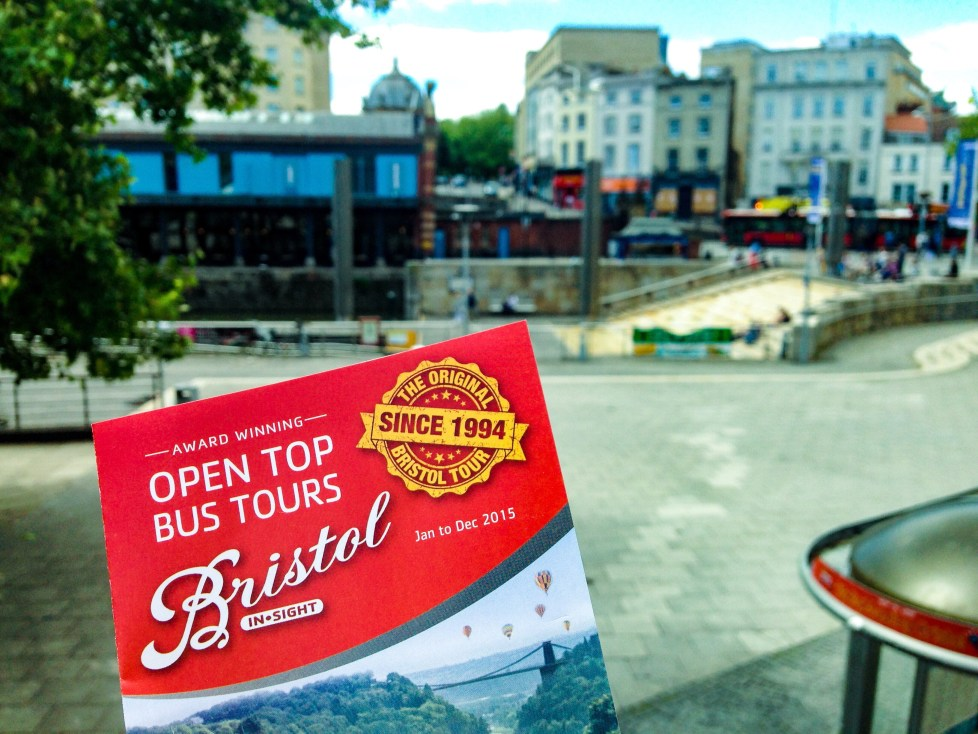 Bristol Insight Open top bus, 11 fun things for kids to do in Bristol
