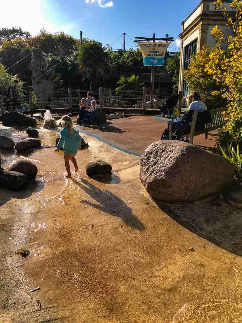 Bristol zoo splash pad