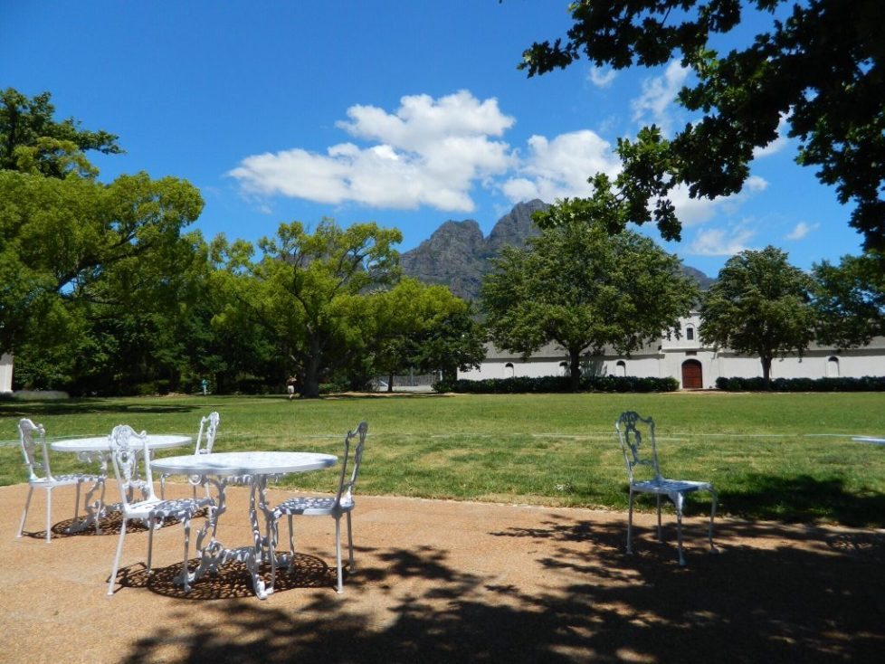 Boschendal - How to win at wine tasting in South Africa