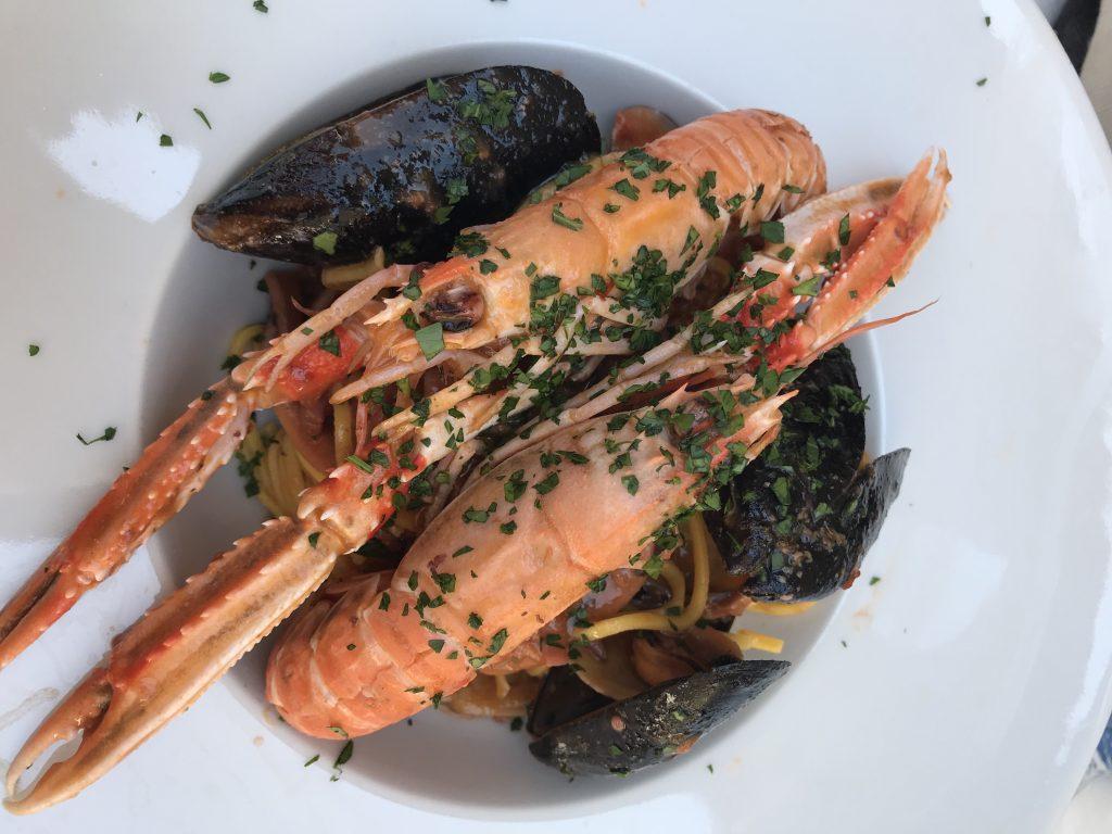 seafood tuscany