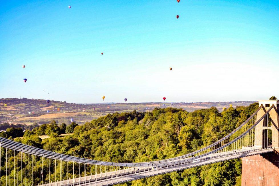 Clifton Suspension Bridge, Free activities in Bristol