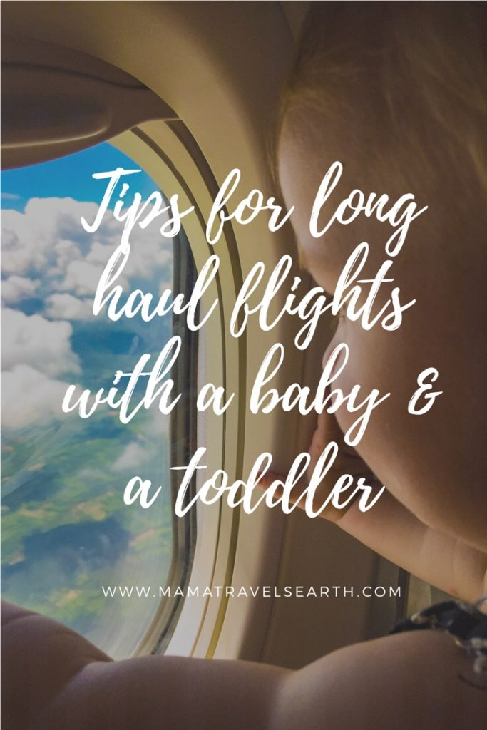 10 Tips for a long haul flight to Thailand with a baby and a toddler
