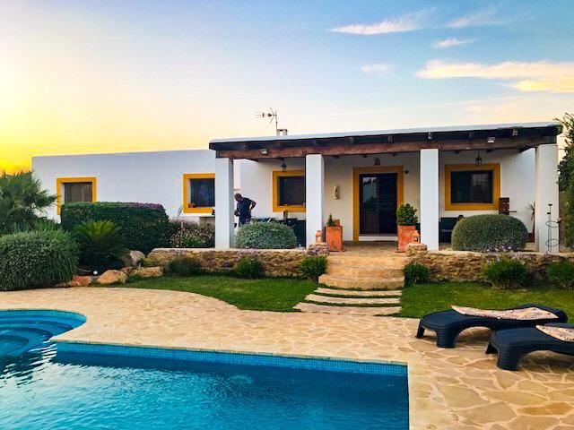 Family-friendly villa ibiza