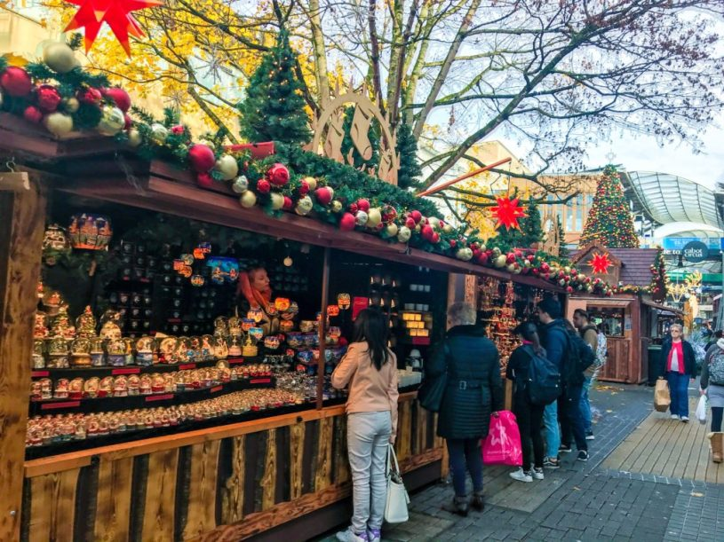 Christmas market - Christmas activities for kids in Bristol