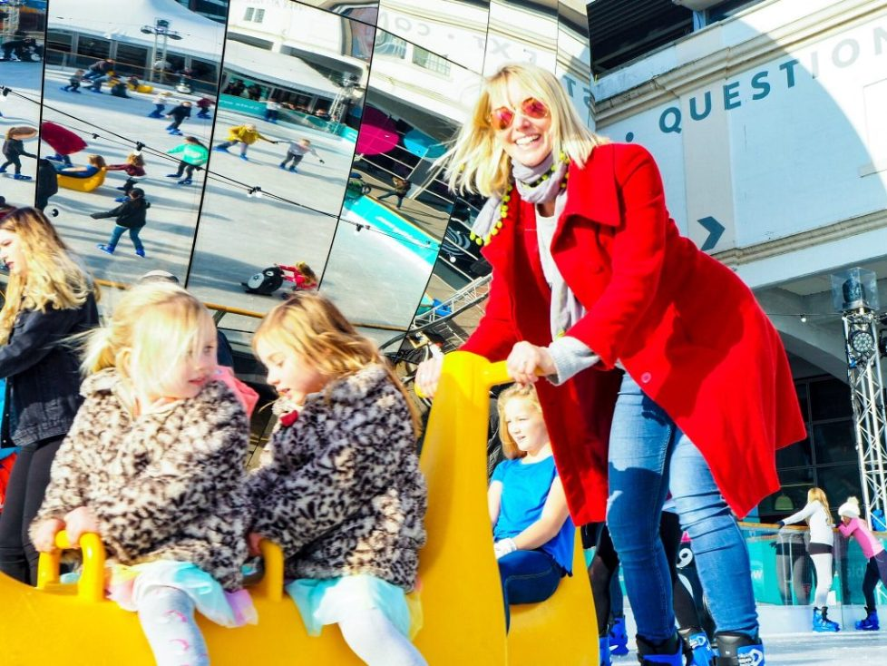 We the curious ice rink -family-friendly festive bucket list bristol