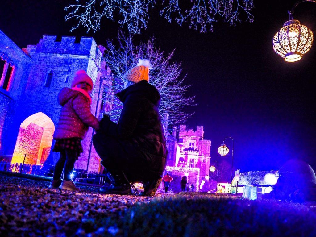 Sudeley Castle light show
