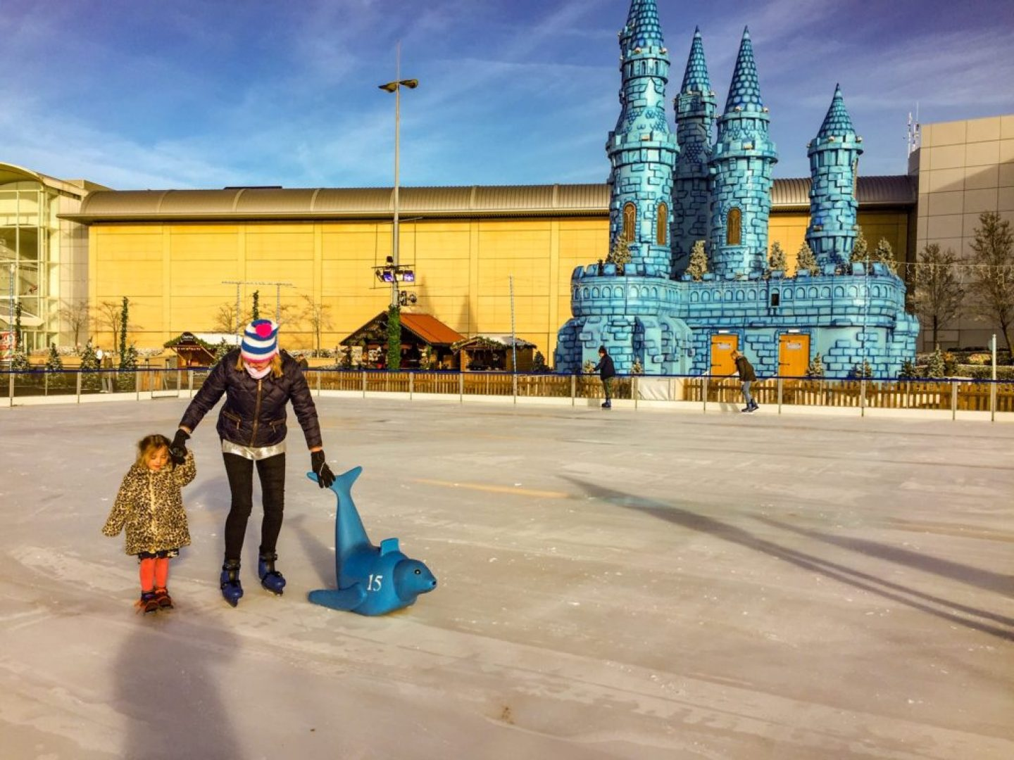 Just off the motorway - The Mall at Cribbs Causeway_ice rink_enchanted castle