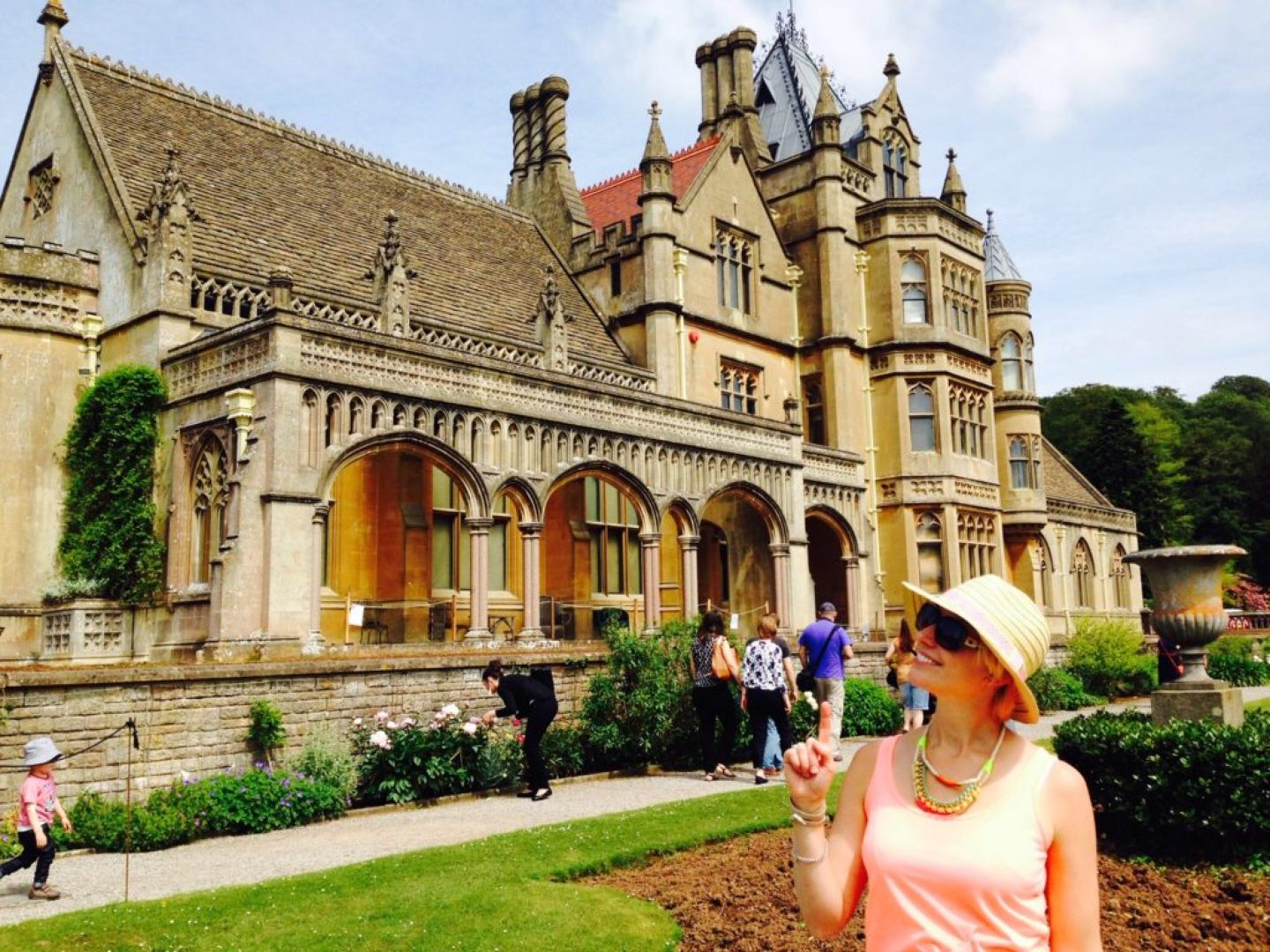 Tyntesfield house - just off the motorway