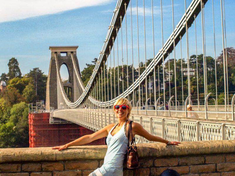 Living in Bristol - clifton suspension bridge