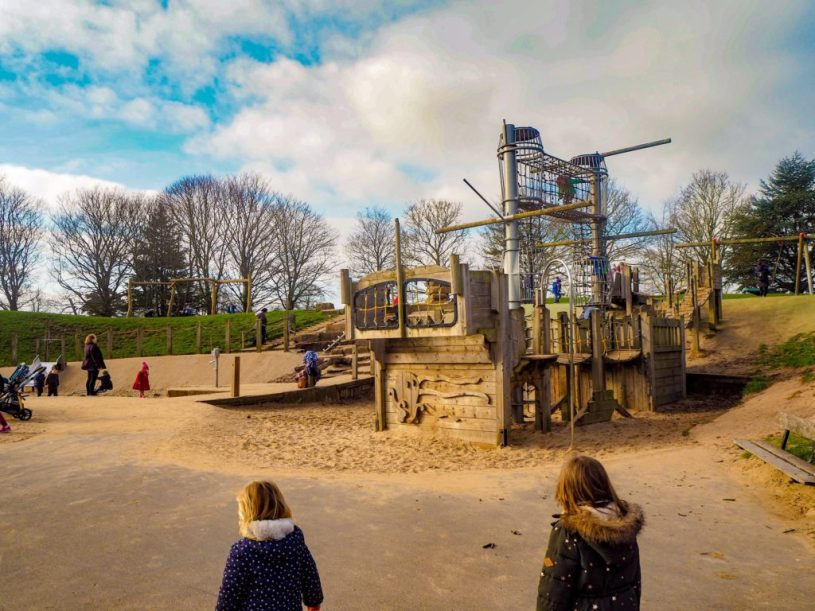 Oldbury Court and Snuff Mills playground