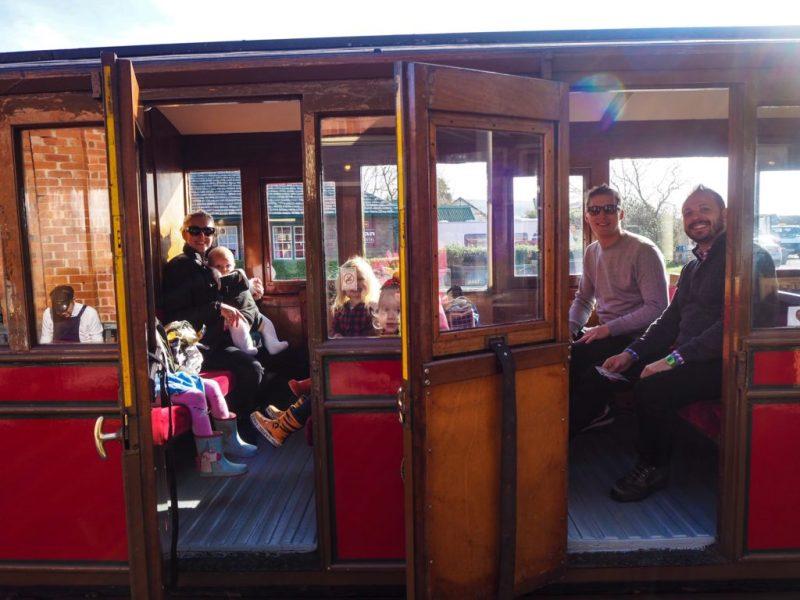 Talyllyn steam railway carriage