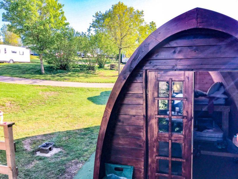 Andrewshayes holiday park - glamping pod inside