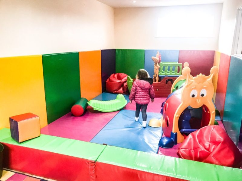 Andrewshayes holiday park Devon - soft play