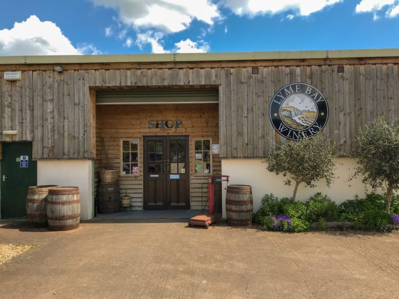 lyme bay winery