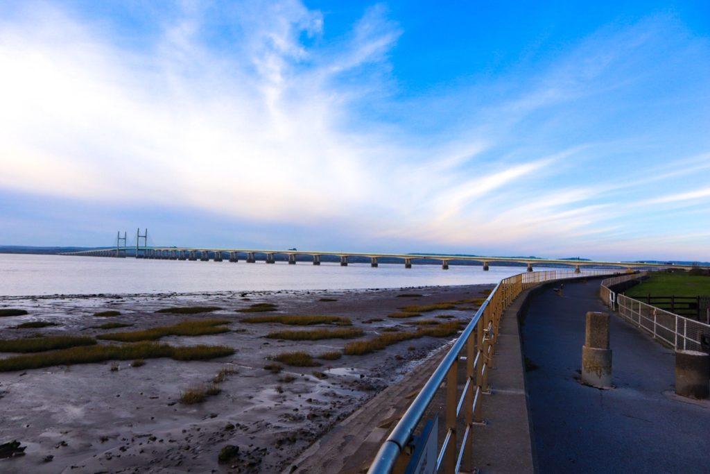 Severn Beach, Severn Bridge