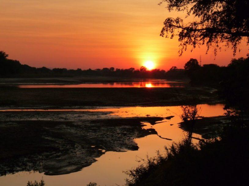 Zambia River Luangwa - sunrise