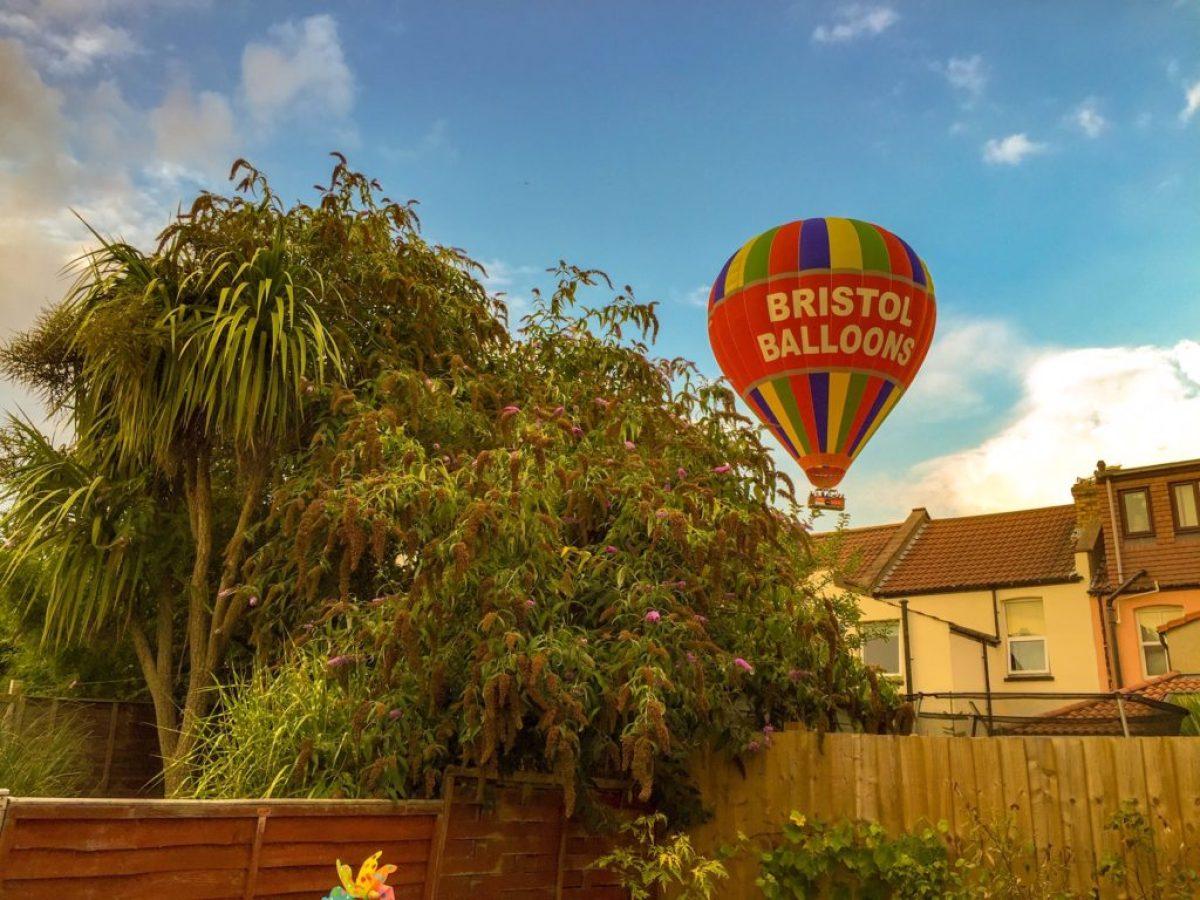 bristol balloons rooftops